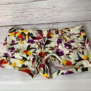 Hippie Laundry Floral Jean Shorts 9